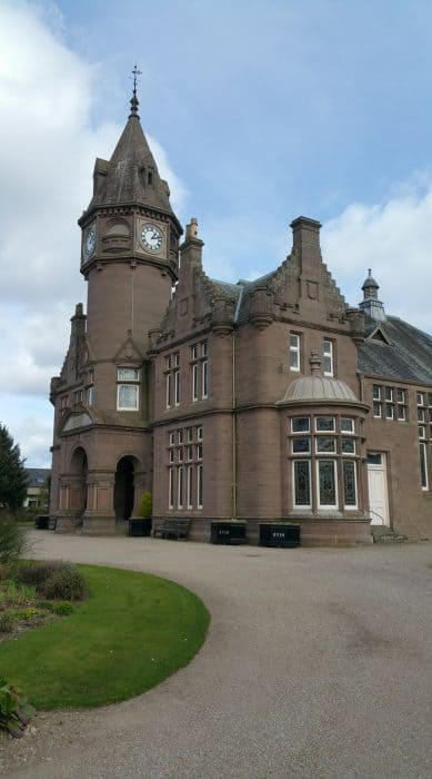Inglis memorial hall, Edzell
